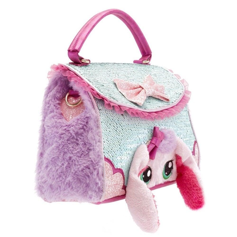 Irregular Choice Bella Bunny bag - Bolso de mano, Estándar, Rosado